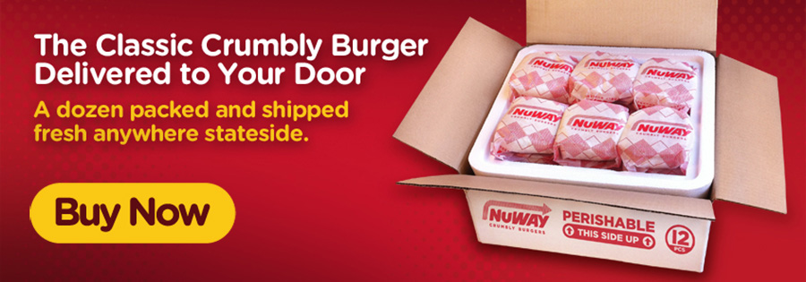 The Classic Crumbly Burger Delivered to Your Door